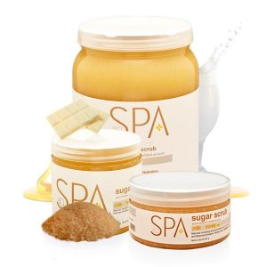 Milk + Honey with White Chocolate Sugar Scrub