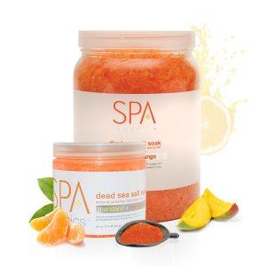 Spa Mandarin + Mango Dead Sea Salt Soak
