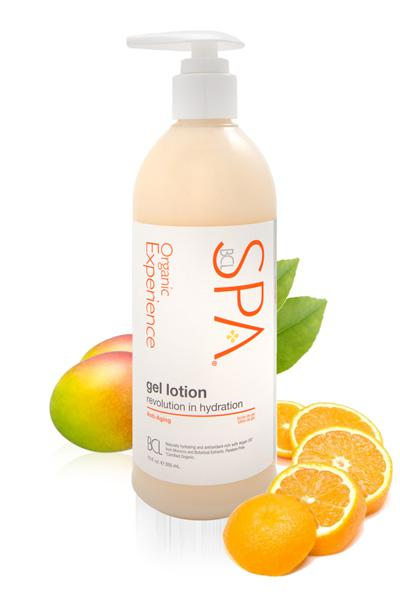 Spa Mandarin + Mango Gel Lotion